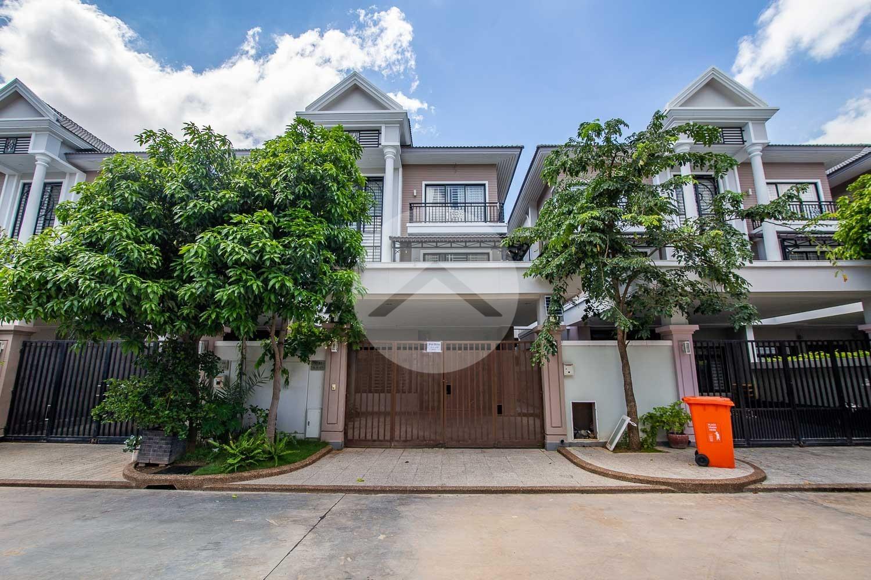 4 Bedroom Shophouse For Rent - Choeung Ek, Phnom Penh