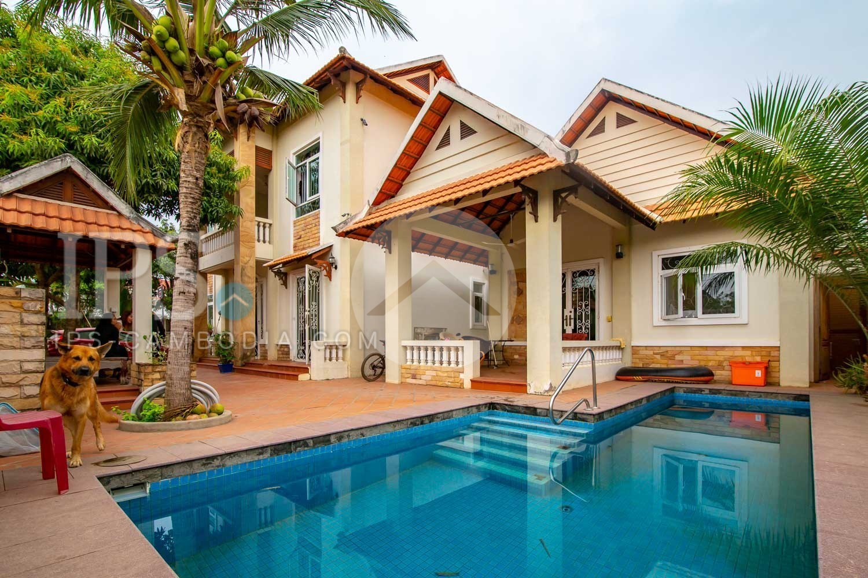 8 Bedroom  Villa For Rent - Preaek Pra, Phnom Penh