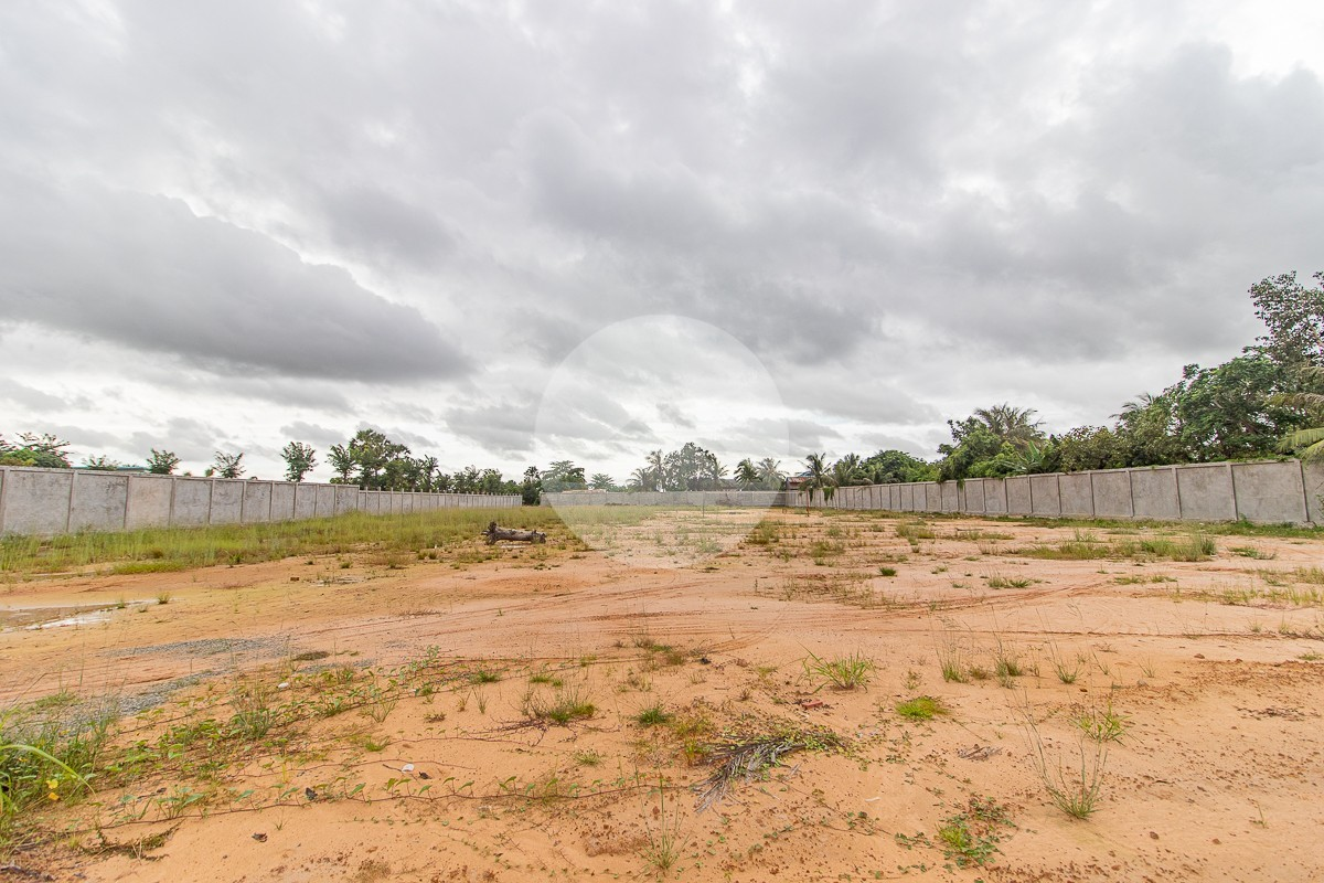 8000 Sqm Commercial Land For Rent - Svay Thom, Siem Reap