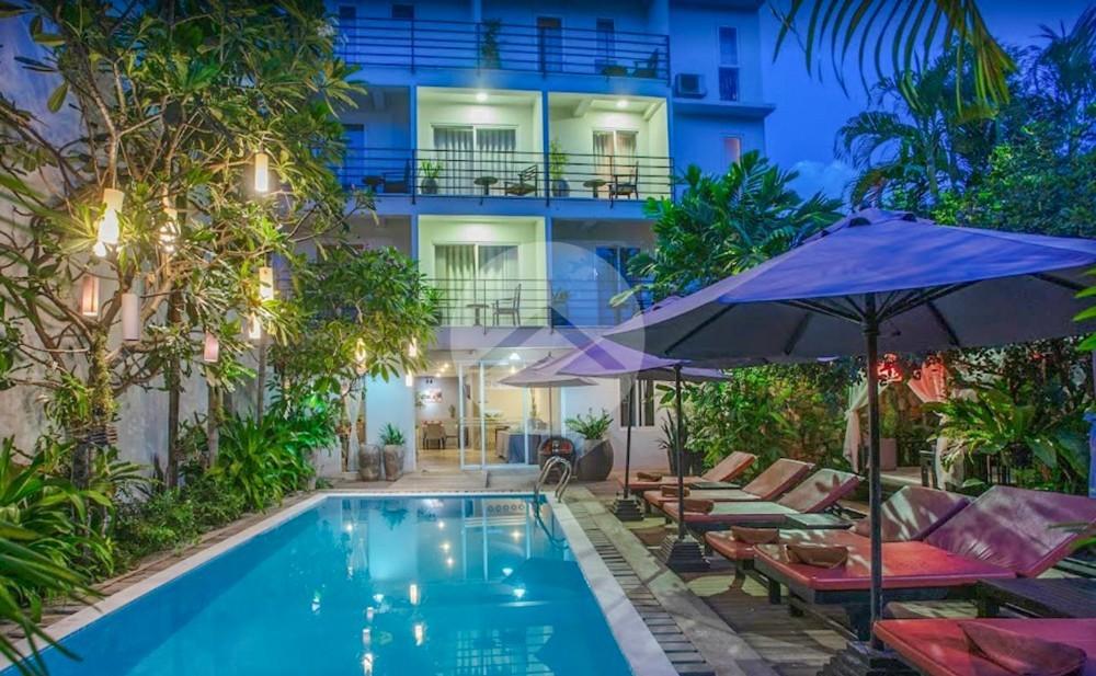 21 Bedroom Hotel For Rent - Old Market  Pub Street, Siem Reap
