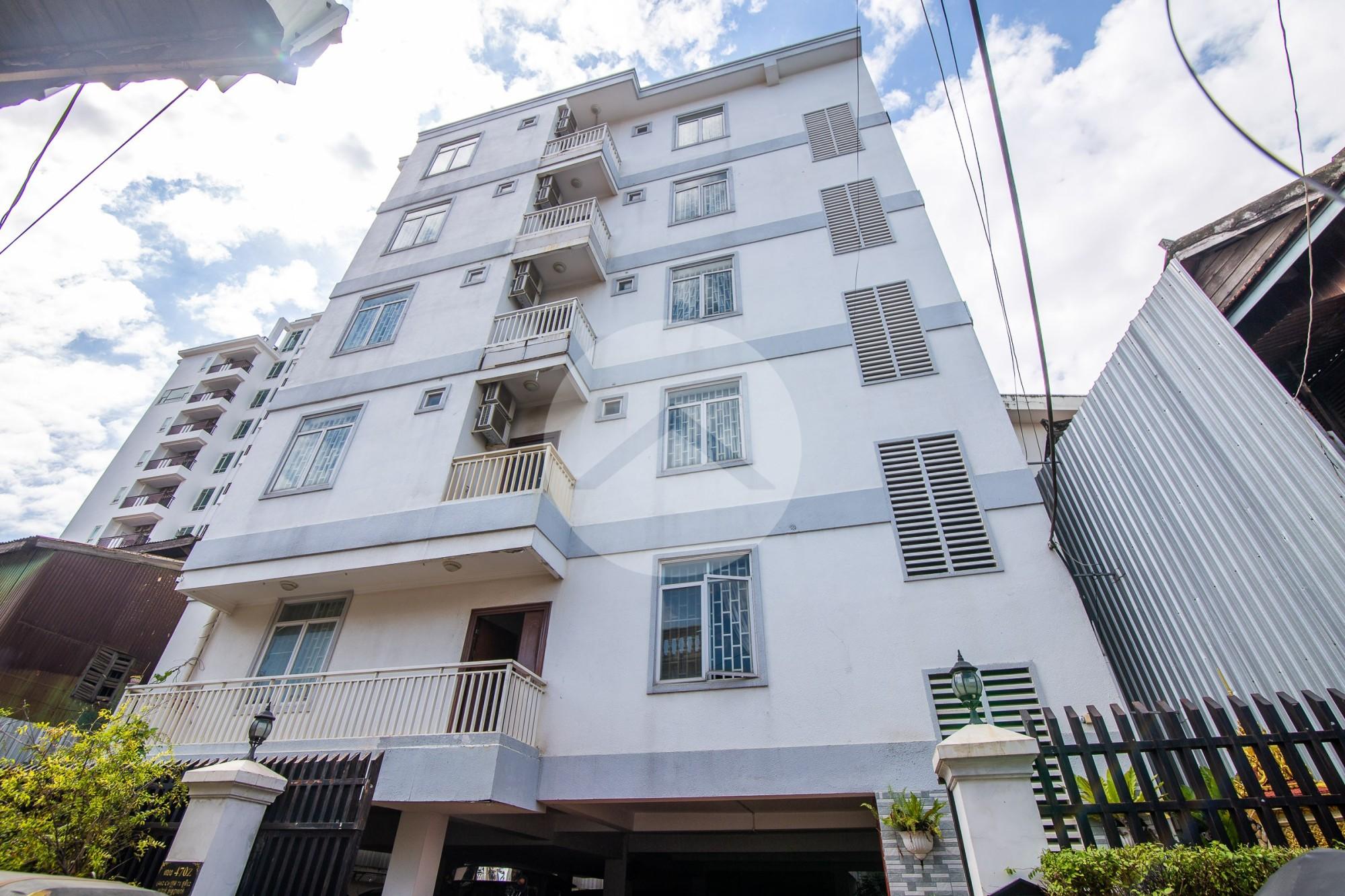 15 Unit Apartment Building For Rent - Tonle Bassac, Phnom Penh