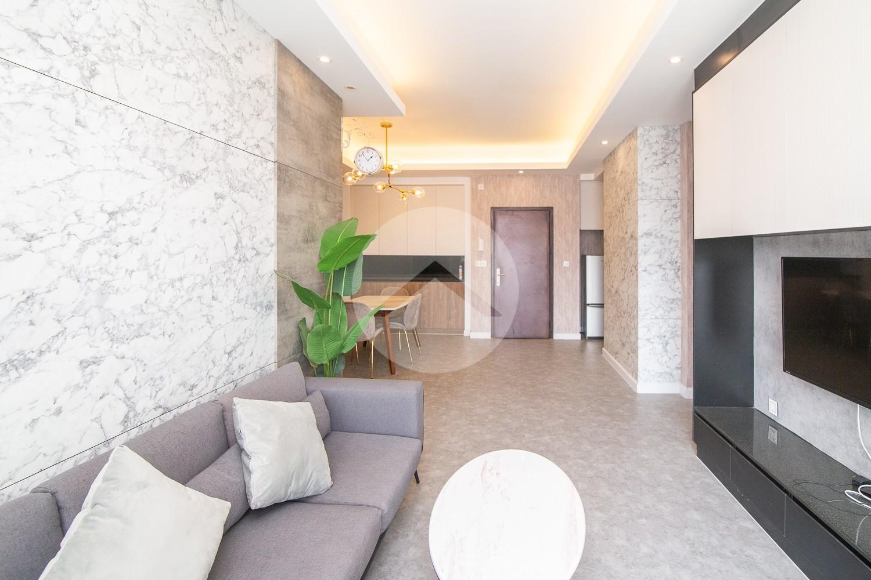 2 Bedrooms Condo For Rent - Sky Tree, Russey Kheo, Phnom Penh