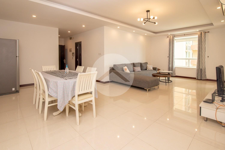 3 Bedroom Apartment For Rent - Rose Garden, Phnom Penh