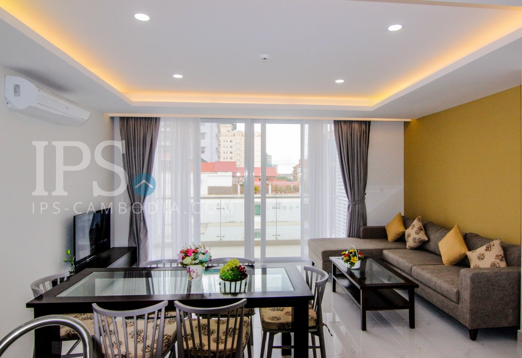 Serviced Apartment for Rent in BKK1 - 3 Bedrooms