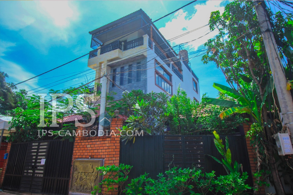 3  Bedroom Villa For Rent in Siem Reap - Bakheng Area