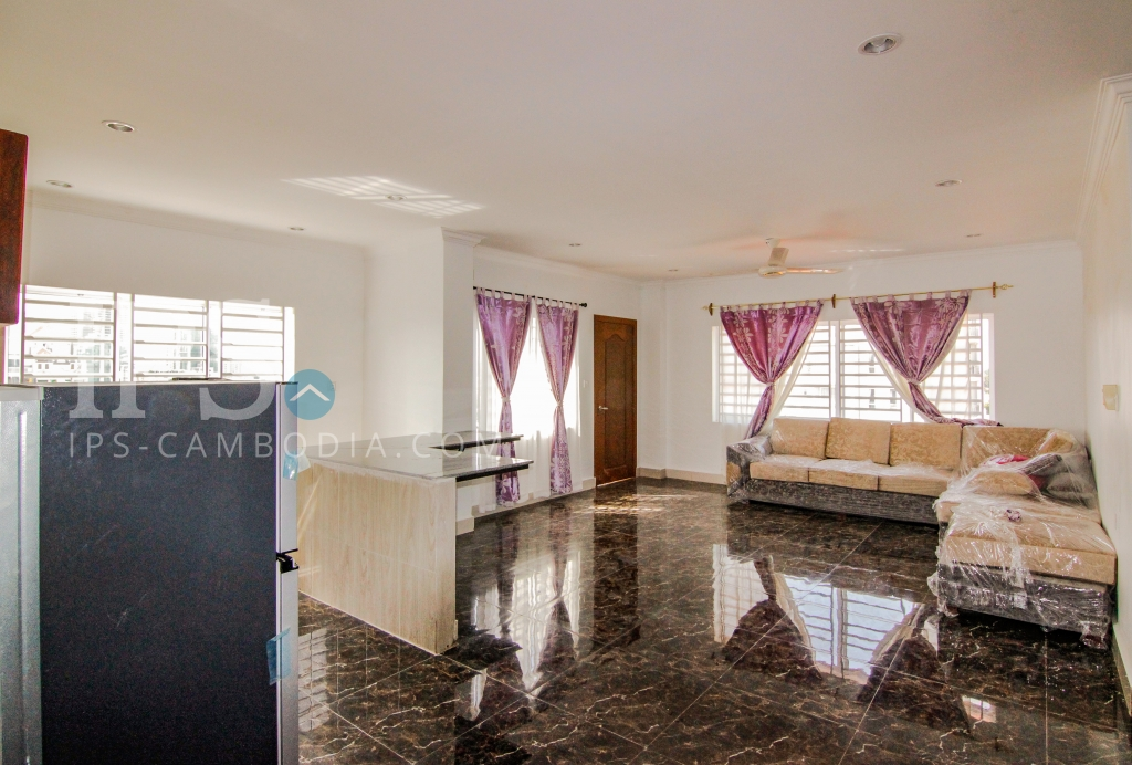 2 Bedroom Serviced Apartment for Rent - Tonle Bassac