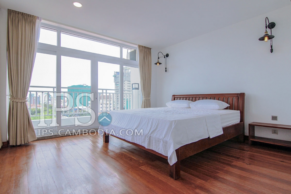 Services Apartment For Rent in Phnom Penh - One Bedroom in BKK1