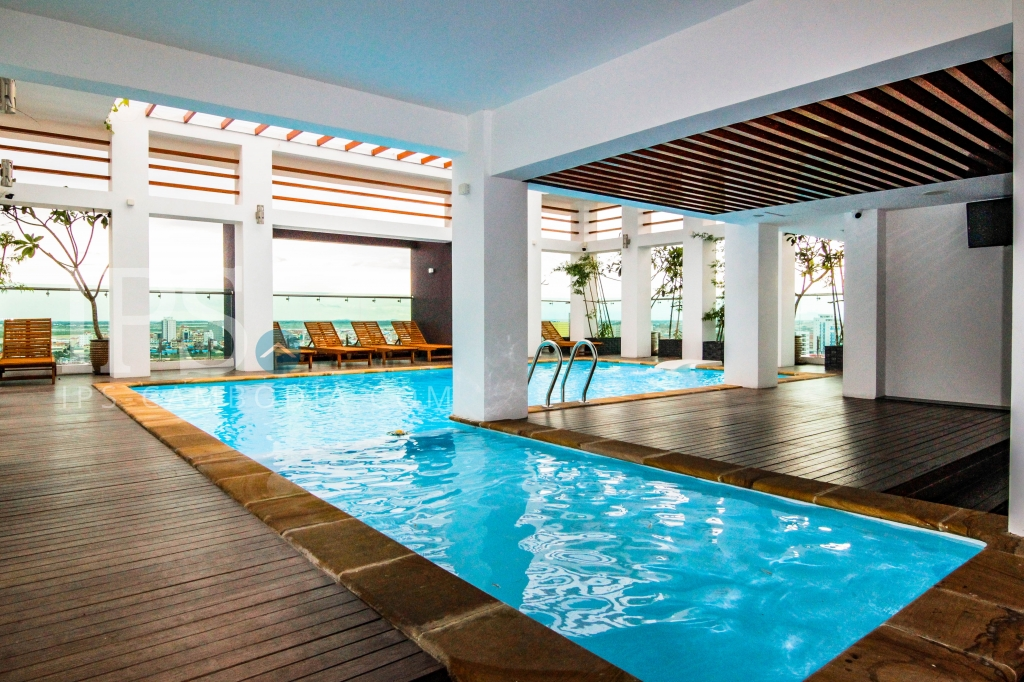 1 Bed Apartment with Pool and Gym for Rent - Toul Tum Poung